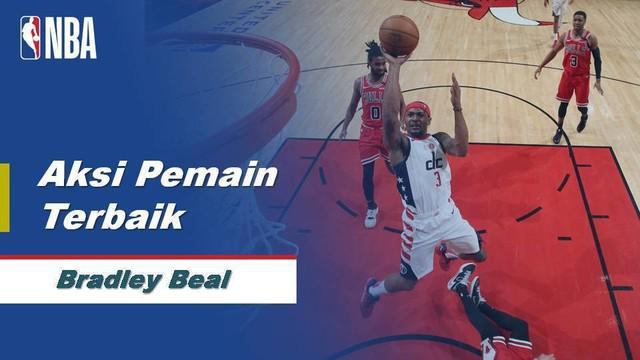 Berita Video aksi Bradley Beal Saat Washington Wizards Dikalahkan Chicago Bulls 117-126