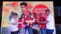 Peluncuran Paket Freedom Internet dari IM3 Ooredoo di Jakarta, Selasa (1/10).