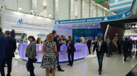 International Forum ATOMEXPO 2018 berlangsung di Sochi, Rusia pada 14 Mei sampai 16 Mei 2018.(Liputan6.con/Nurmayant)