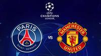 Liga Champions - PSG Vs Manchester United (Bola.com/Adreanus Titus)