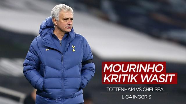 Berita Video Jose Mourinho Sesali Keputusan Wasit Dalam Pertandingan Tottenham Hotspur Vs Chelsea