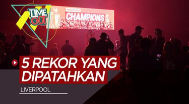 Berita Video 5 REKOR BARU LIVERPOOL DI PREMIER LEAGUE 2019/2020