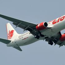Ilustrasi Pesawat Lion Air (ROSLAN RAHMAN / AFP)