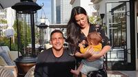 Momen kedekatan Hamish Daud dan Baby Zalina. (Sumber: Instagram/hamishdw)