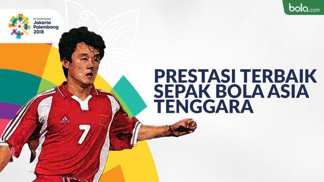 Berita video prestasi terbaik negara-negara Asia Tenggara pada cabang sepak bola Asian Games.