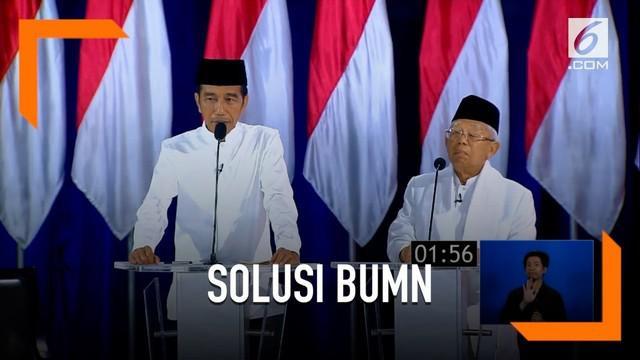 Jokowi menilai untuk memajukan negara jangan hanya menyalahkan kondisi saja, tapi juga harus mencari solusi penyelesaiannya juga.