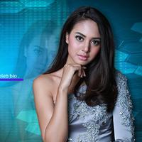 Celeb Bio Aurelie Moeremans (Fotografer: Galih W Satria, Desain: Denti Ebtaviani/Bintang.com)