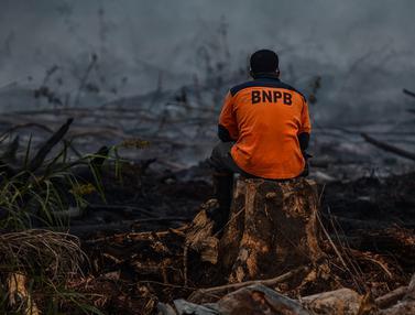 Kebakaran Lahan Gambut di Kampar