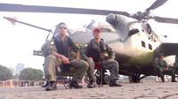 Serka Suriatna Wijaya Kusuma tercatat sebagai salah satu penumpang Helikopter MI-17 milik TNI AD yang hilang kontak di Oksibil, Kabupaten Pegunungan Bintang, Papua. (Liputan6.com/ Panji Prayitno)