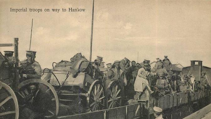 Tentara kekaisaran China dikirim untuk mengatasi pemberontakan di seluruh negeri (Wikipedia/Public Domain)