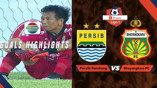 Berita video gol-gol yang tercipta saat Persib Bandung kalah 1-2 dari Bhayangkara FC dalam lanjutan Shopee Liga 1 2019, Minggu (30/6/2019).