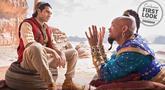 Mena Massoud sebagai pemeran Aladdin akan beradu peran dengan Will Smith yang memerankan jin. Aladdin bertemu dengan jin ini setelah mendapatkan lampu ajaib. (Liputan6.com/IG/disneyaladdin)