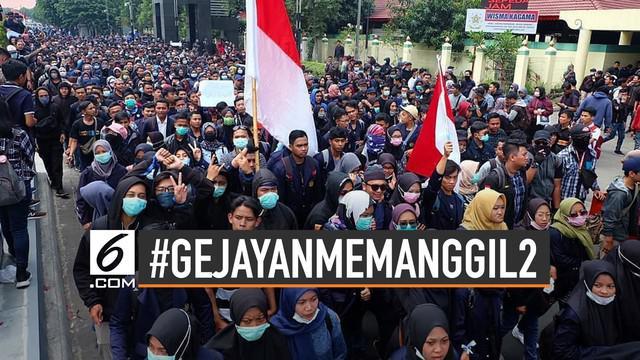 Akun instagram @gejayanmemanggil menjelaskan 9 isi tuntutan #gejayanMemanggil2.