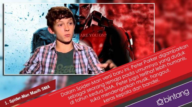 5 Fakta Menarik Seputar Film Spider-Man: Homecoming. (Digital Imaging: Nurman Abdul Hakim/Bintang.com)