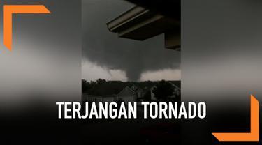 Tornado besar menerjang wilayah Missouri Amerika Serikat hari Rabu (22/5). Tornado yang melintas di wilayah utara Joplin itu sebabkan beberapa kerusakan.