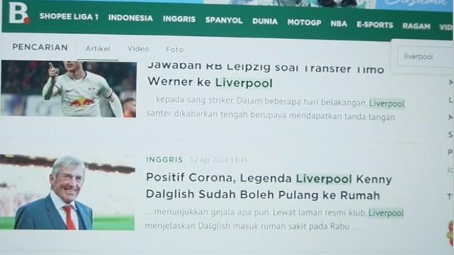 Berita video TikTok Bola.com kali ini tentang video editor Bola.com, Okie Prabhowo, yang sudah kangen dengan laga-laga Premier League, FPL (Fantasy Premier League), dan menonton pertandingan Liverpool.