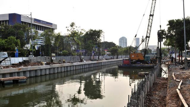 Cegah Banjir, Kali Ciliwung Lama Dinormalisasi