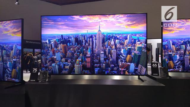 Samsung Boyong Semua TV QLED 8K ke Indonesia, Harganya? - Tekno