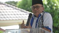 Ketua MPR Zulkifli Hasan melaksanakan rangkaian Safari Ramadhan di Lampung