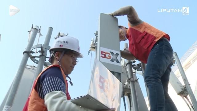 Korea Selatan siap meluncurkan layanan 5G pada 1 desember mendatang. Ini menjadi yang pertama di dunia.