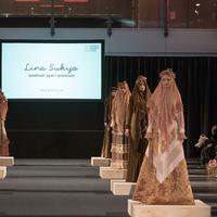 Desainer busana muslim. (Foto: Dok. Lina Sukijo)