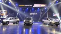Chevrolet Captiva berbasis Wuling Almaz diperkenalkan di Thailand. (Komar Johari)