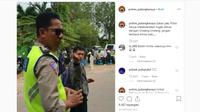Kena Razia, Pria Ini Malah Atraksi Ilmu Tenaga Dalam di Depan Polisi (Instagram)