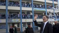 Pierre Krähenbühl, pemimpin lembaga PBB untuk bantuan pegungsi Palestina (AP/Adel Hana)