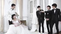 Beberapa artis Korea menjadikan pernikahan adalah momen sakral tak terlupakan.
