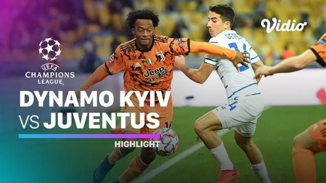 Berita video highlights Liga Champions, Juventus menang atas Dynamo Kiev 2-0, Rabu (21/10/20).
