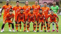 Skuad Persiraja Banda Aceh. (Bola.com/Gatot Susetyo)