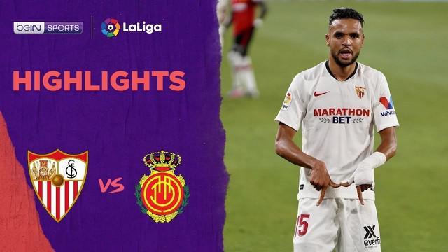Berita Video Highlights La Liga, Sevilla Kalahkan Mallorca 2-0