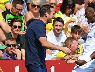 FOTO: Chelsea Raih Kemenangan Perdana bersama Frank Lampard