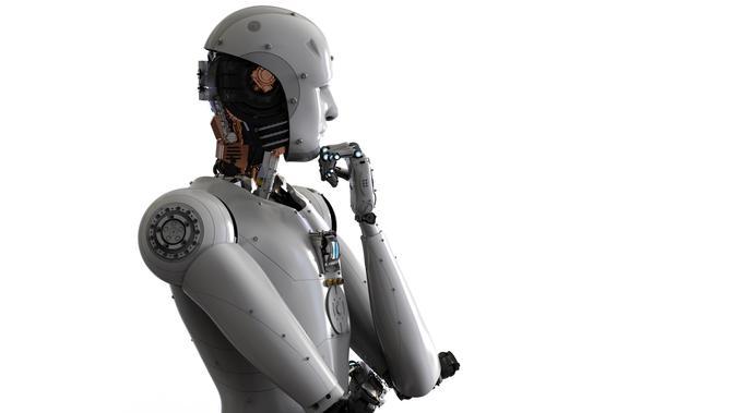 Ilustrasi Robot (iStockPhoto)