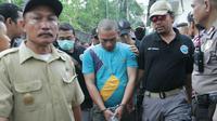 Salah satu bandar sabu diringkus BNN di Medan (Liputan6.com/Reza Efendi).