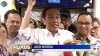 Jokowi berharap, dengan kehadiran MRT dan juga moda transportasi lain di Jakarta, pengendara akan beralih ke angkutan umum dan pada akhirnya kemacetan lalu lintas di Ibu Kota bisa berkurang.