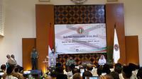 Dialog publik pendidikan nasional bersama Wapres Jusuf Kalla di Gedung PGRI, Tanah Abang, Jakarta Pusat. (Merdeka.com/ Intan Umbari Prihatin)