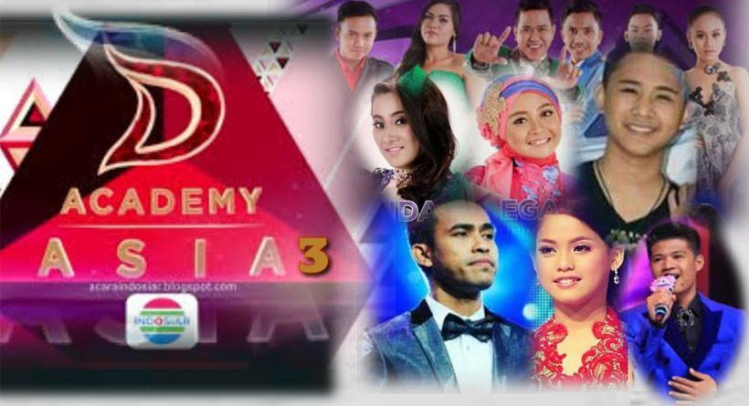 Dangdut Academy Asia 3 atau DA Asia 3 (istimewa)