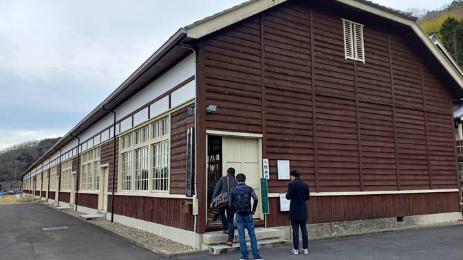 Uwa Rice Museum di Prefektur Ehime, Jepang (Liputan6.com/ Mevi Linawati)