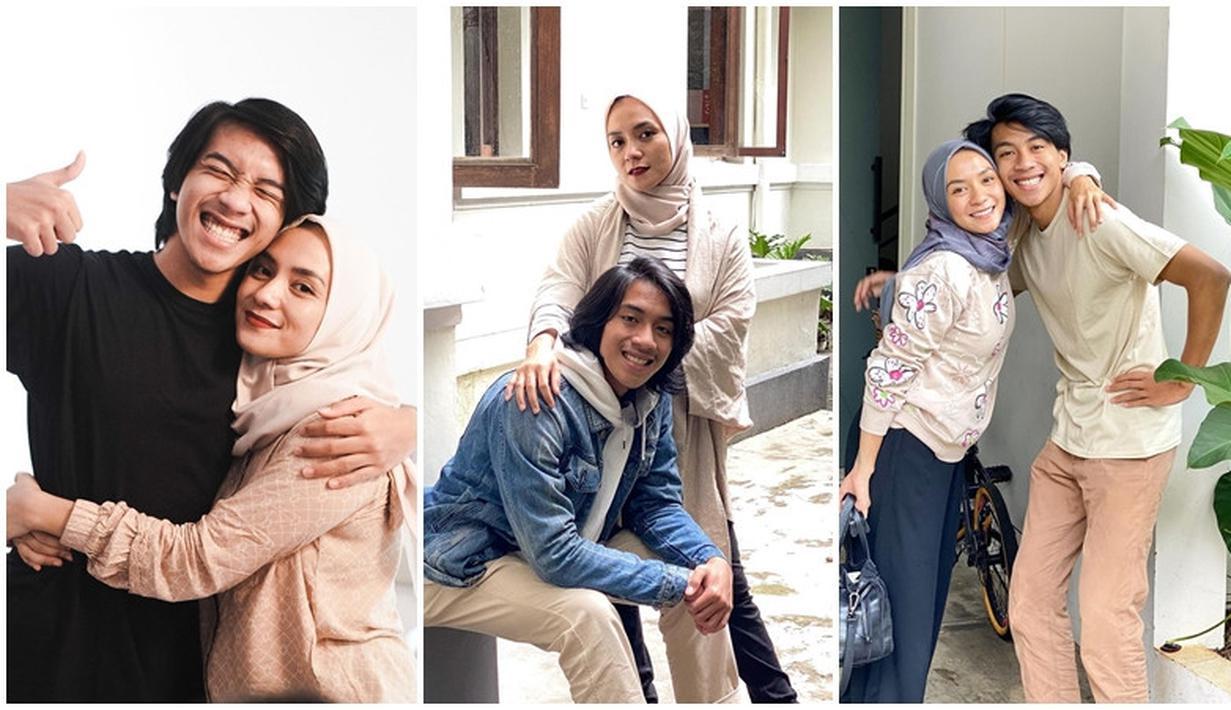Enno Lerian dan putra bungsunya, Bumi Pradipa kerap menunjukkan kekompakan mereka di social media. (Instagram @ennolerian_)