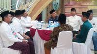 Multaqo atau pertemuan ulama se-Cilacap menghasilkan tujuh maklumat yang bertujuan menjaga persatuan bangsa Indonesia usai Pemilu 2019. (Foto: Liputan6.com/Taufik untuk Muhamad Ridlo)