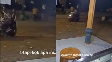 Viral Penampakan Hantu Ikut Bonceng Motor, Terekam Jelas Melalui Kamera HP