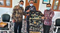 Walikota Cilegon Terpilih Sowan Ke Bupati Banyuwangi. (Jumat, 22/01/2021). (Dokumentasi).