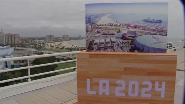 Komite Olimpiade Internasional memutuskan Los Angeles sebagai tuan rumah Olimpiade 2028.