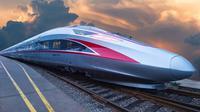 Kereta Cepat Jakarta-Bandung akan menggunakan kereta cepat generasi terbaru, CR400AF. (Dok PT KCIC)