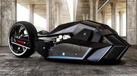 BMW mengeluarkan kendaraan konsep yang bisa berlari dengan kecepatan di atas 500 km/jam
