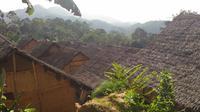 Kampung adat Baduy luar. (Liputan6.com/Dinny Mutiah)