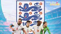 Piala Eropa - Pemain Inggris di Final Euro 2021 (Bola.com/Adreanus Titus)