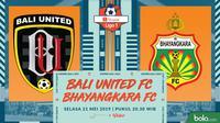 Shopee Liga 1 - Bali United Vs Bhayangkara FC (Bola.com/Adreanus Titus)