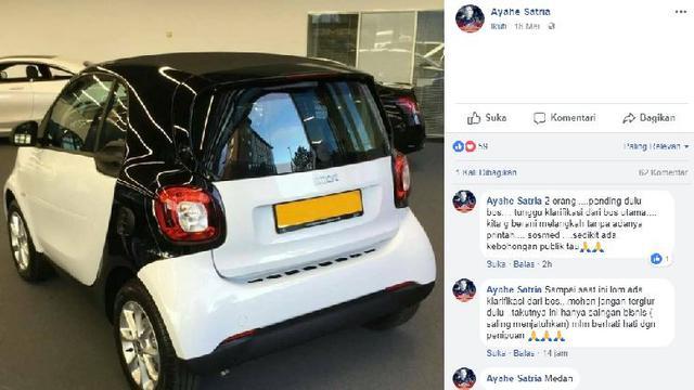 Viral Mobil Kecil Mirip Smart Fortwo Harga Rp 25 Juta Otomotif